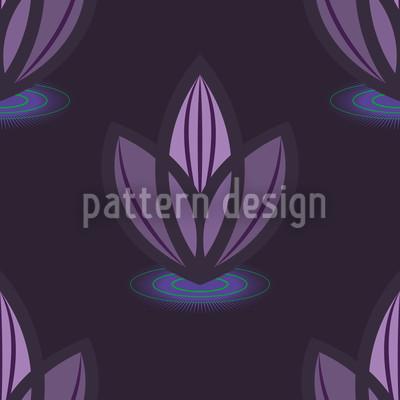 Lotus Lilaq Vector Pattern