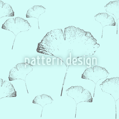 Ginkgo Dream Seamless Pattern