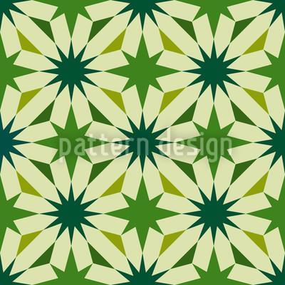 Etoiles Du Vert Pattern Design