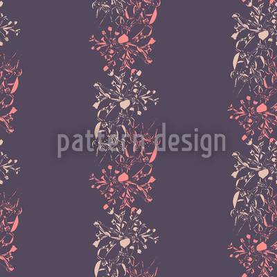 Late Bloomers Seamless Vector Pattern Design
