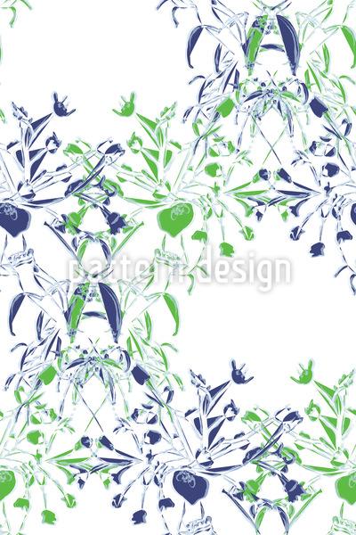 Blumenstrauss Rapportiertes Design