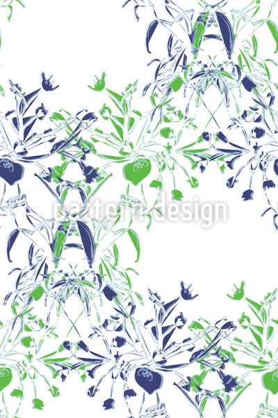 Flower Bouquet Repeating Pattern