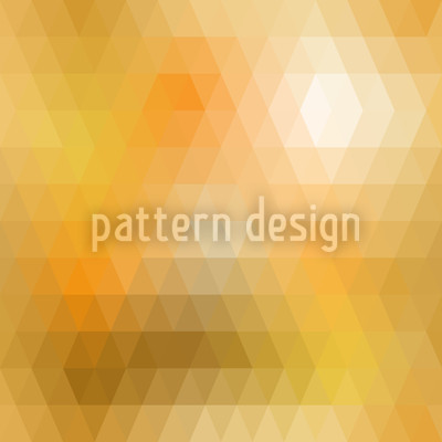 Disco Gold Seamless Vector Pattern Design