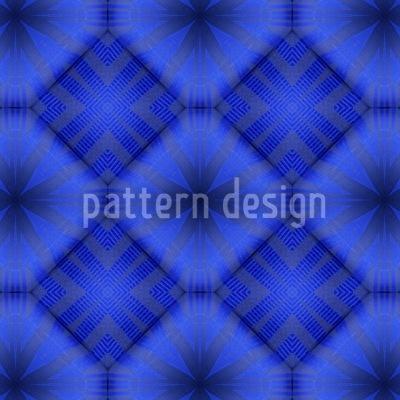Ultramarine Seamless Vector Pattern Design