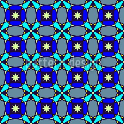 Sternchenhimmel Vektor Muster