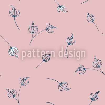 Talula Rose Repeating Pattern