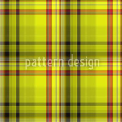 Schottische Highlands Rapportiertes Design