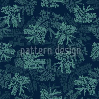 Akazienblätter Blau Vektor Design