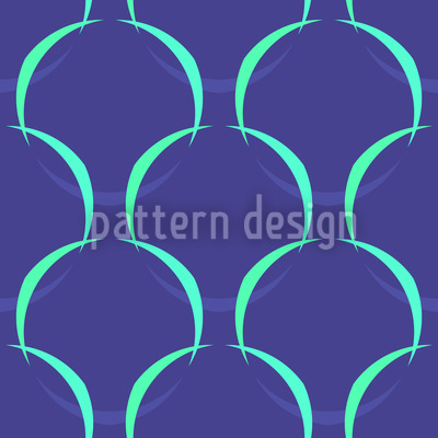 Mesh Blue Pattern Design