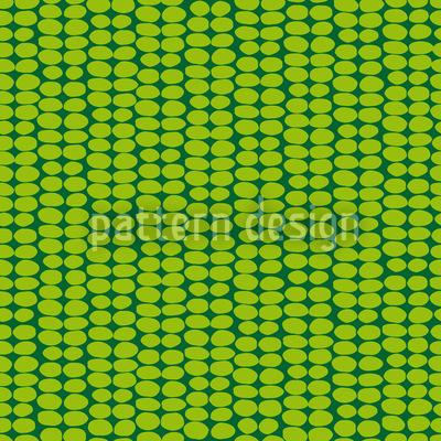 Leaf Green Retro Vector Design