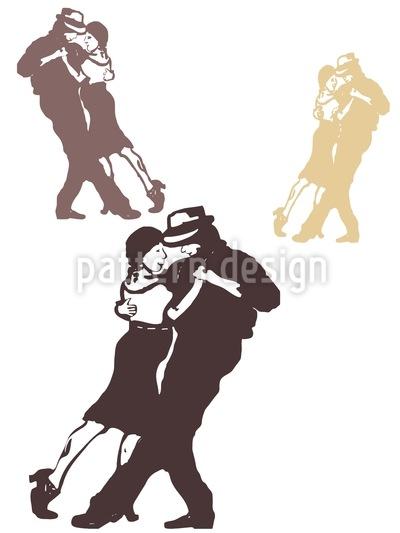 Tango Chocolate Pattern Design
