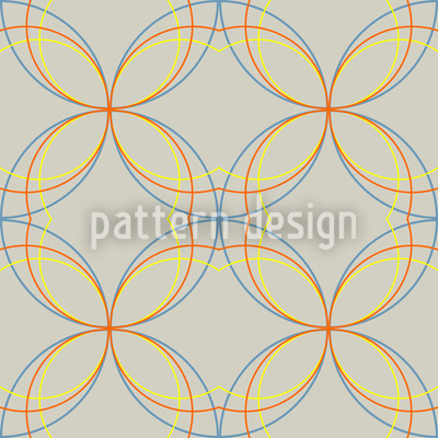 Gekreuzt und Kurvig Designmuster
