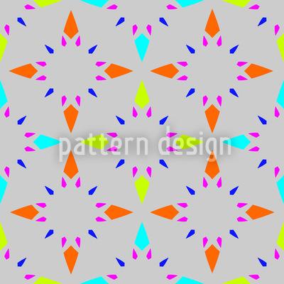 Sterne Mosaik Nahtloses Muster