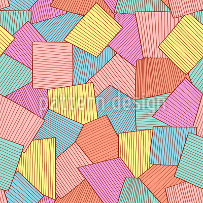 Abstract Tiles Vector Design