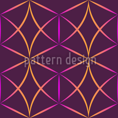 Crazy Diamonds Seamless Vector Pattern Design