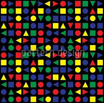 Geometrische Formen Musterdesign
