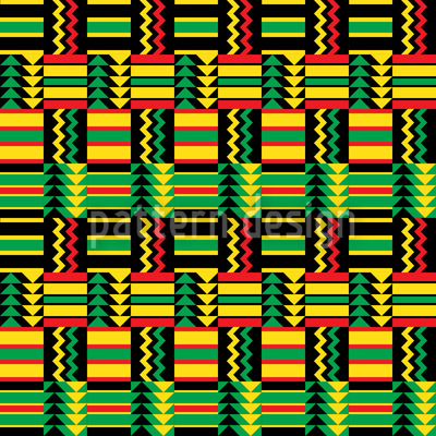 Viva Africa Repeating Pattern