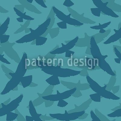 Dove Blue Vektor Muster