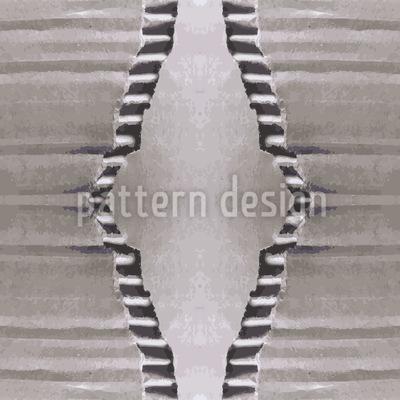 Aufgerissene Wellpappe Nahtloses Vektor Muster