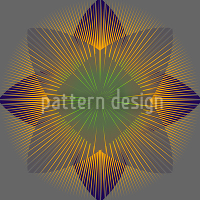 Geometric Blossom Vector Design