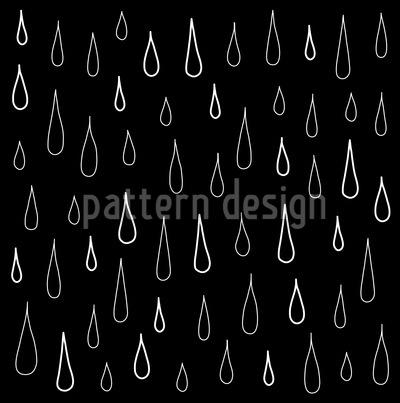 Black Drops Pattern Design