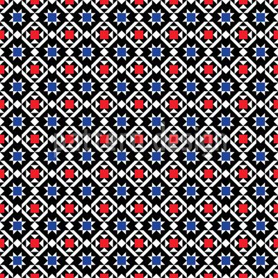 Traditionelles Skandinavien Vektor Muster