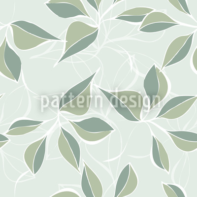Pastel Green Seamless Vector Pattern Design