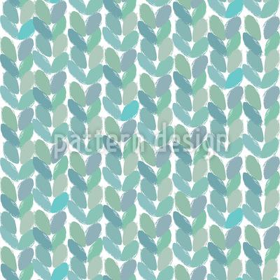 Kleine Geordnete Blätter Vektor Design