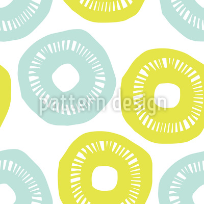 Sonnenschein Blau und Gelb Nahtloses Vektormuster