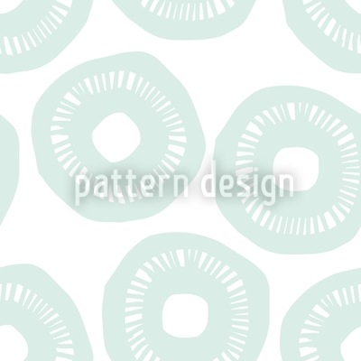 Sunshine Pastel Blue Pattern Design
