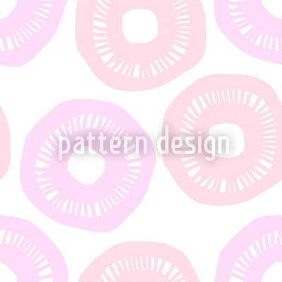 Sunshine Pink and Lavender Design Pattern
