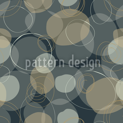 Circle Party Seamless Vector Pattern Design