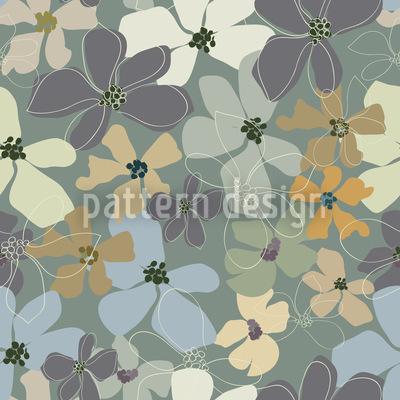 Gelb Lila Potpourri Vektor Design