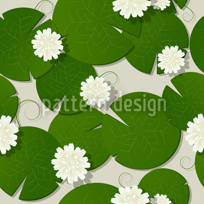 Water Lilies Design Pattern