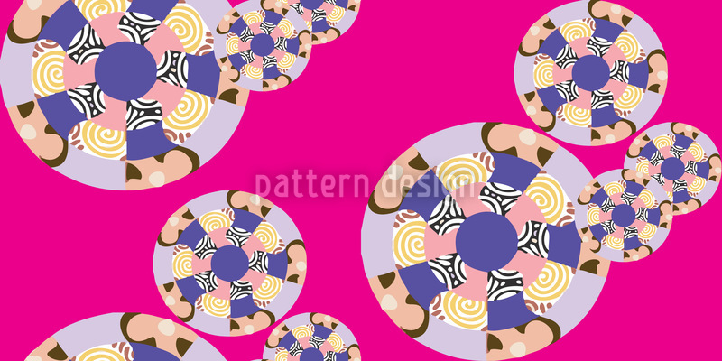 Mandala Nahtloses Vektor Muster