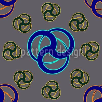 Tri Tribal Repeat Pattern