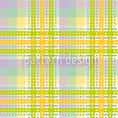 Gelbes Tartan Musterdesign