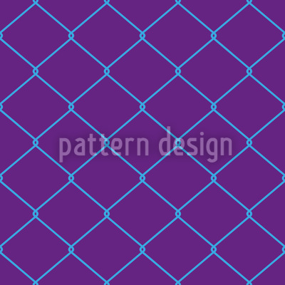 Chain Link Seamless Vector Pattern Design
