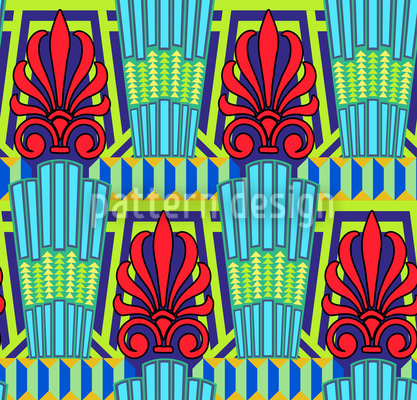 Artilando Bright Repeating Pattern