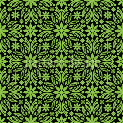 Grünes Durcheinander Vektor Muster