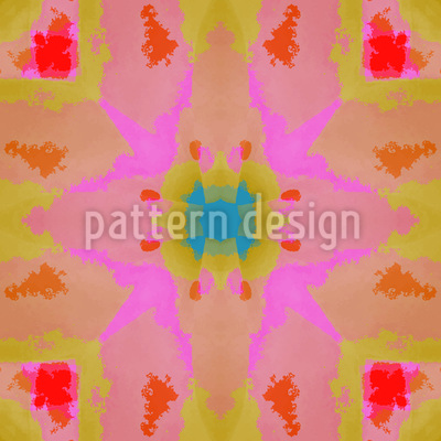 Summer Batik Vector Ornament