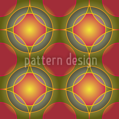 Enlightened Balls Seamless Pattern