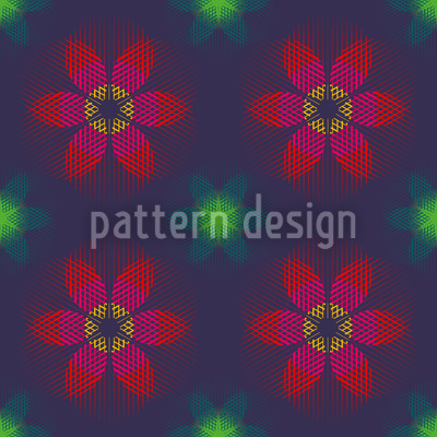 Lunafiori Repeating Pattern