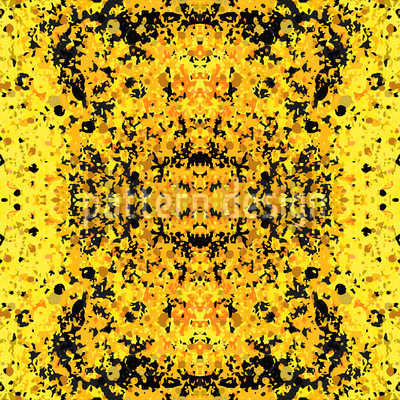 Stained Yellow Design Pattern