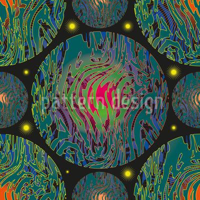 Planetas Vektor Muster