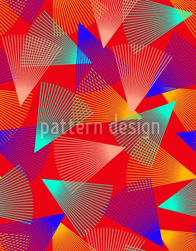Wirbelnde Dreiecke Vektor Design