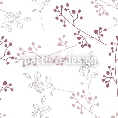 Twiggy Pastel Pattern Design
