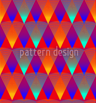Allover Argyle Seamless Pattern