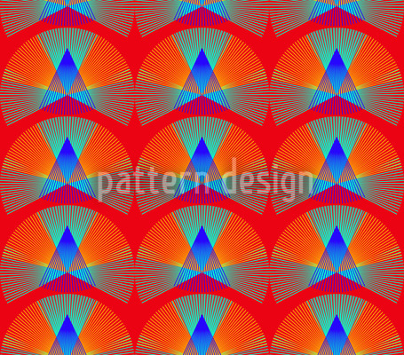 Art Conus Seamless Vector Pattern Design