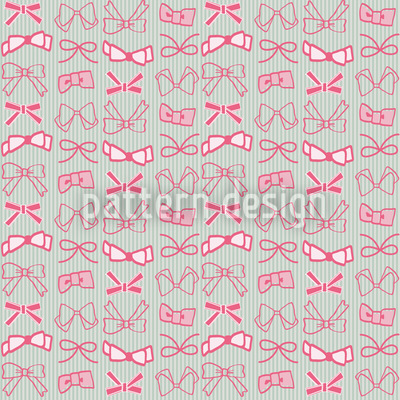 Bows Seamless Vector Pattern Design